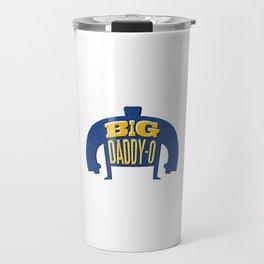 Mens Funny Dad Gym product - Big Daddy Gift - New Dad Travel Mug