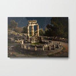 Sanctuary of Athena, Delphi Metal Print