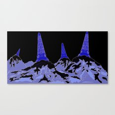 Mountain Top Ice Cream Canvas Print