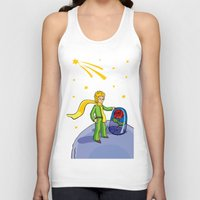 the little prince Tank Tops featuring Little prince by Dennis Morgan