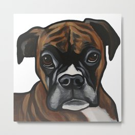 BOXER PORTRAIT FOR YOUR HOME Metal Print