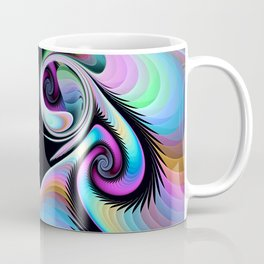 Motion in an abstract Coffee Mug