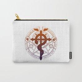 fullmetal alchemist flamel long Carry-All Pouch