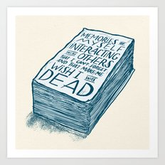 2500 Page Zine Art Print