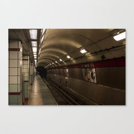Subway To Hell Canvas Print