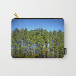 Forest : Tall TRees Carry-All Pouch