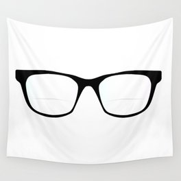 Pair Of Optical Glasses Wall Tapestry