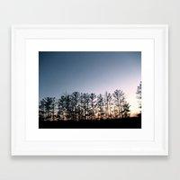 north carolina Framed Art Prints featuring North Carolina  by n o a h
