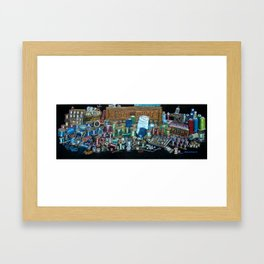 sewing spools Framed Art Print