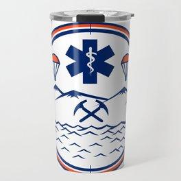 Land Sea Air Rescue Icon Travel Mug