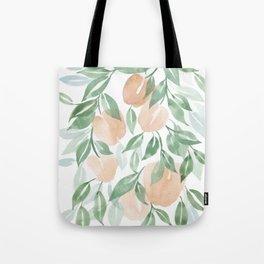Peach Tree Tote Bag