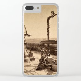 An Azimuthal Horizon, Sextant and Zodiacal Sphere, Ancient Observatory, Peking Clear iPhone Case