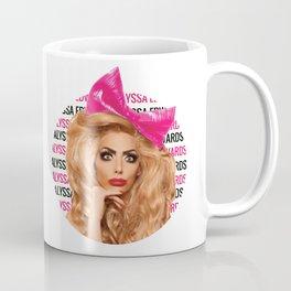 Alyssa Edwards - Circle Coffee Mug