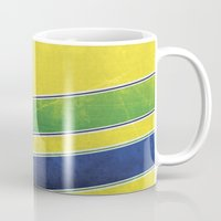 senna Mugs featuring Ayrton Senna - I have no idols by Kelvin Farrell
