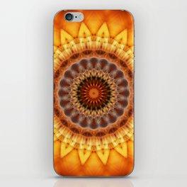 Mandala egypt sun iPhone Skin