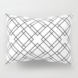 Simply Mod Diamond Black and White Pillow Sham