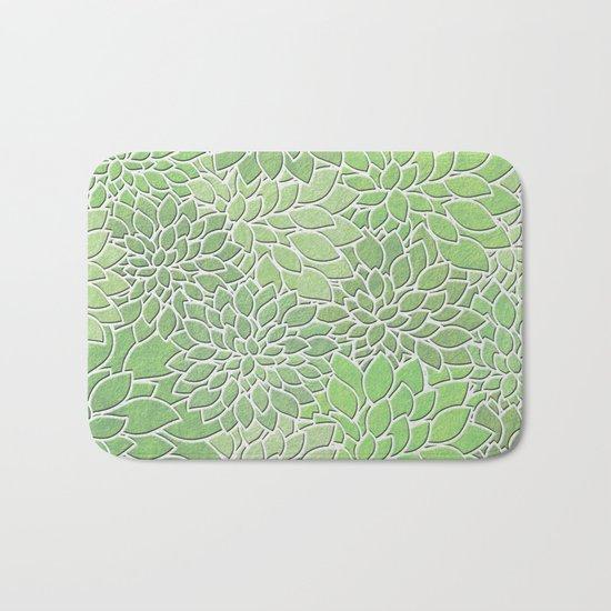 Floral Abstract 30 Bath Mat