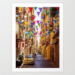 Naples, Italy Art Print