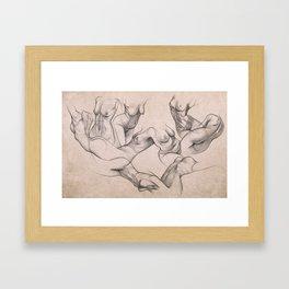 Torsos Framed Art Print