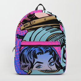 We can Do It ! Feminism Queer Galaxy Backpack