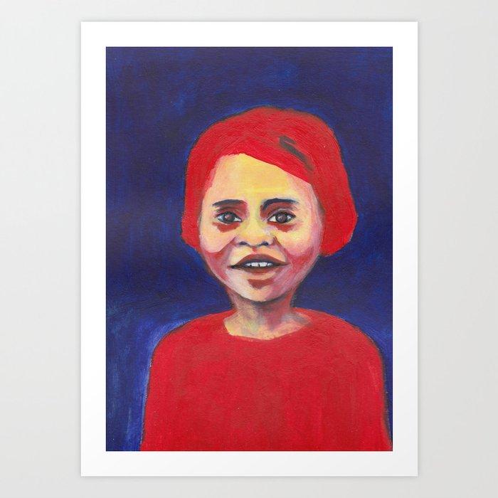 Les petites filles I.38 Art Print