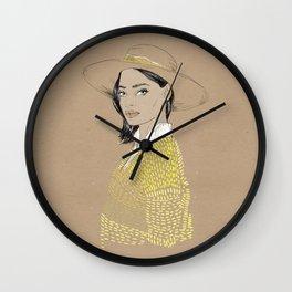 Hat Wall Clock