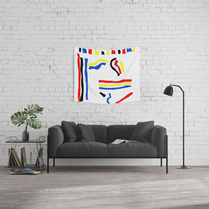 Primary Wall Tapestry