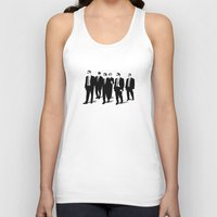 reservoir dogs Tank Tops featuring Reservoir Dogs by Jason Vaughan