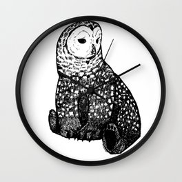 Owl-Bear Wall Clock