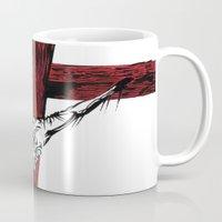 jesus Mugs featuring Jesus by Robert Cooper