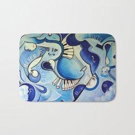 Reves Bleus (blue dreams) Bath Mat