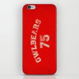 Go Owlbears! iPhone Skin