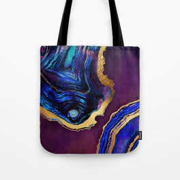 Agate Abstract Tote Bag