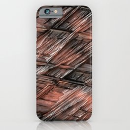 Grannys Hut - Structure 1B iPhone Case