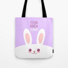 Feeling Bunny Tote Bag