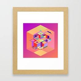 Cubic Inversion I Framed Art Print