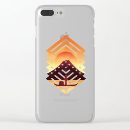Asian scenery Clear iPhone Case