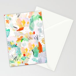 toto: abstract painting Stationery Cards