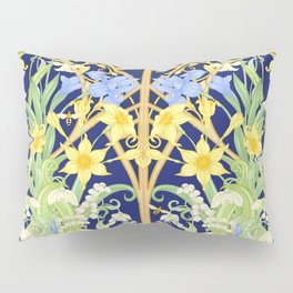 The Bee's Paradise Pillow Sham
