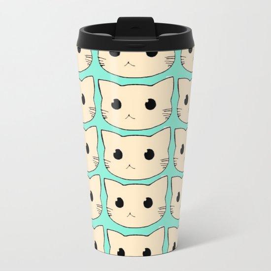 cats-423 Metal Travel Mug