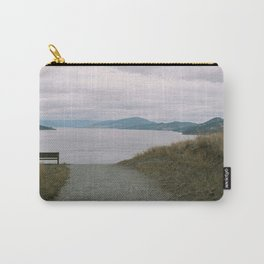 view of okanagan lake from knox mountain Carry-All Pouch