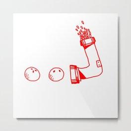 Bolas rojas Metal Print