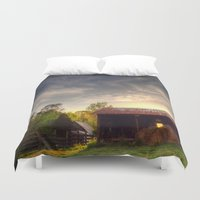 tennessee Duvet Covers featuring Tennessee Sunset by Terbo