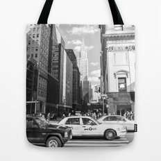 New York, New York Tote Bag