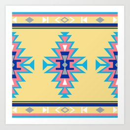AZTEC WOTHERSPOON Art Print