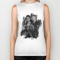 jessica lange Biker Tanks featuring The Witches - Susan Sarandon, Jessica Lange and Meryl Streep by BeeJL