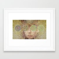 prince Framed Art Prints featuring Prince by SUKI﹆