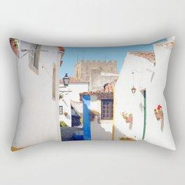 Portugal, Obidos (RR 184) Analog 6x6 odak Ektar 100 Rectangular Pillow