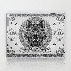 Legend of Zelda Twilight Wolf Link Line Art Laptop & iPad Skin
