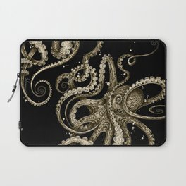 Octopsychedelia Sepia Laptop Sleeve